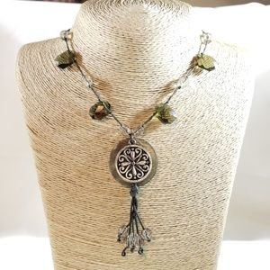 Jewelry - Fashion Necklace Olive Green
